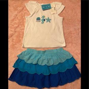 Baby girls 👧 matching Gymboree set. NWT